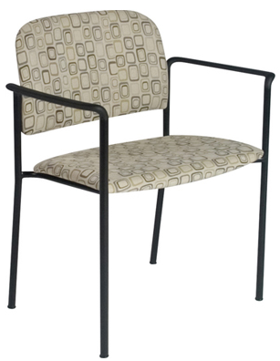 "Heavy Duty Stack Chair - 22"" Seat"