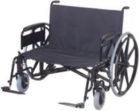Big and Tall Wheelchair, Heavy Duty, Over Sized, Bariatric