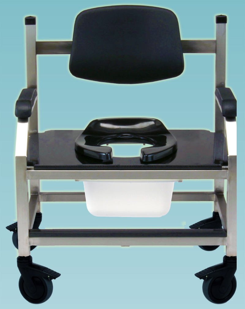 Big and Tall Shower/Commode Chairs, Heavy Duty, Over Sized, Bariatric